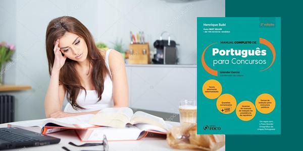 Livro Português para Concursos: Manual Completo com Gramática, Interpretação de Texto e Redação