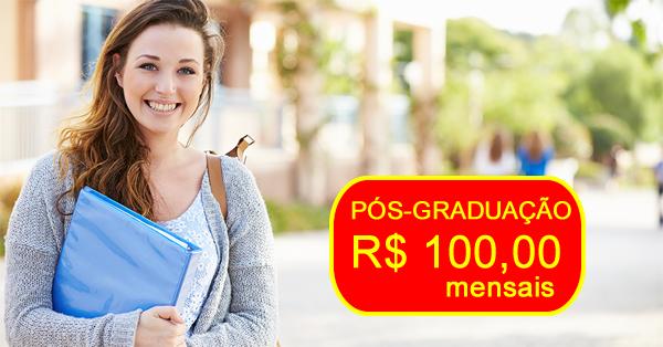 Pós-graduação por R$ 100 mensais no Instituto Prominas