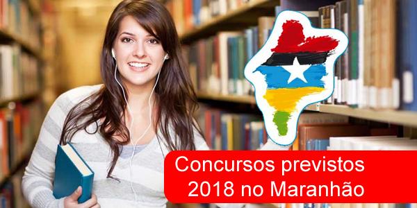 Lista de concursos previstos para 2018 no Maranhão