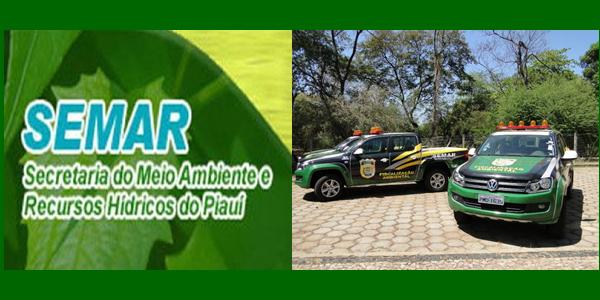 Edital do concurso 2018 da SEMAR-PI – Secretaria Estadual de Meio Ambiente e Recursos Hídricos