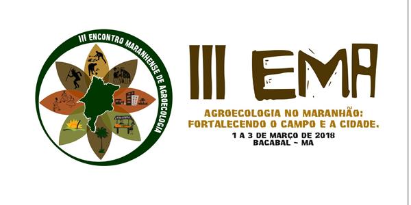 Convite para o III Encontro Maranhense de Agroecologia  em Bacabal – MA