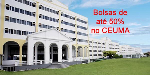 Bolsas de até 50% em curso de graduação no CEUMA em 2018.1 através do Quero Bolsa