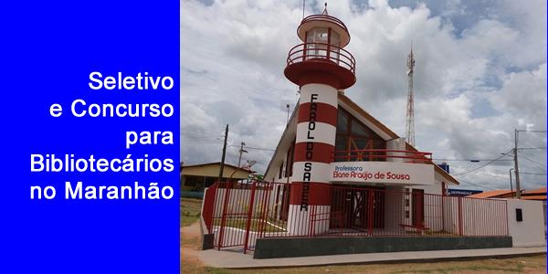 Governo do Maranhão anuncia concurso para Bibliotecários