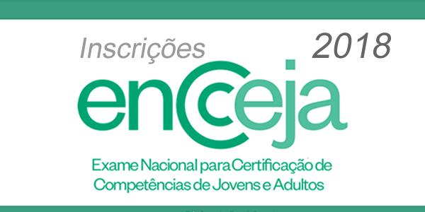 Inscrições para o Encceja 2018 – Prova de certificação do ensino fundamental e médio
