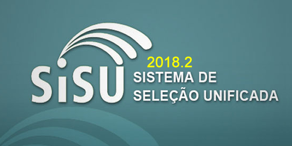 Resultado com as listas de classificados no SiSU 2018.2