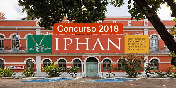Edital do concurso 2018 do IPHAN