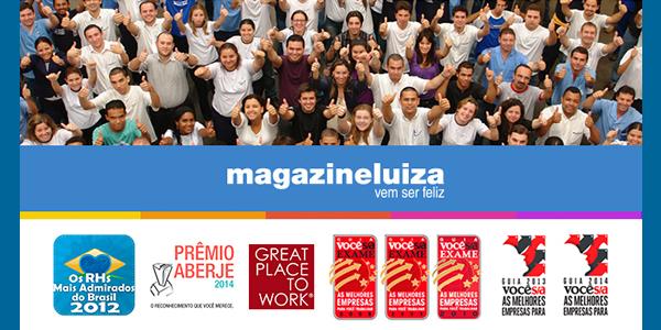 Vagas de emprego na Magazine Luiza em cidades do Maranhão para 2018.2