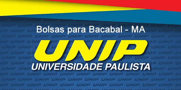 Bolsas de até 30% em cursos de graduação na UNIP de Bacabal em 2018.2 através do Quero Bolsa