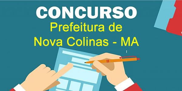 Edital do concurso 2018 da Prefeitura de Nova Colinas – MA