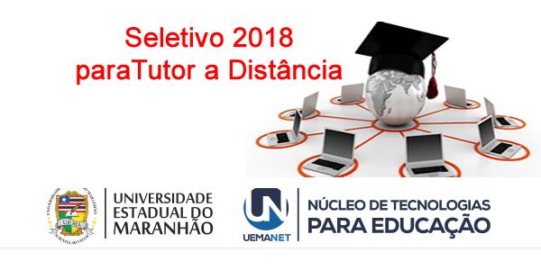 Seletivo 2018 de tutor a distância da UEMANET – Edital 11/2018