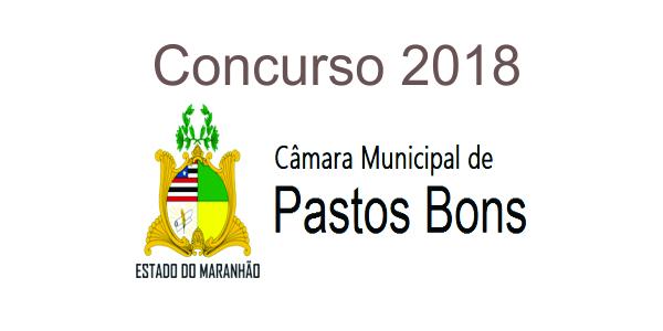 Edital do concurso 2018 da Câmara de Pastos Bons – MA