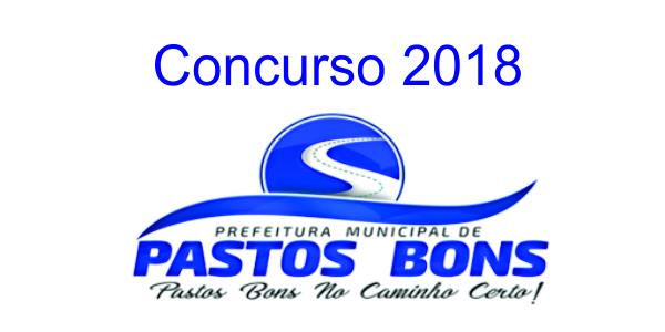 Edital do concurso 2018 da Prefeitura de Pastos Bons – MA