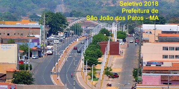 Edital do seletivo 2018 da Prefeitura de São João dos Patos – MA