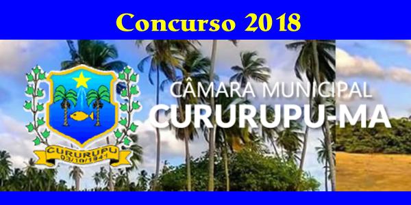Edital do concurso 2018 da Câmara de Cururupu – MA