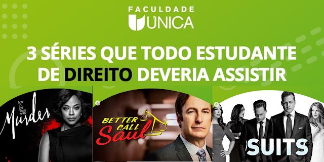 3 séries da Netflix para estudantes de Direito