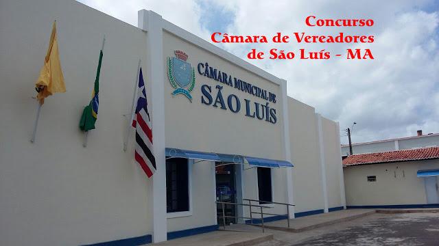 Edital do concurso 2018 da Câmara de São Luís – MA