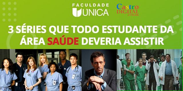 3 séries para estudantes da área da saúde (enfermagem, medicina, etc)