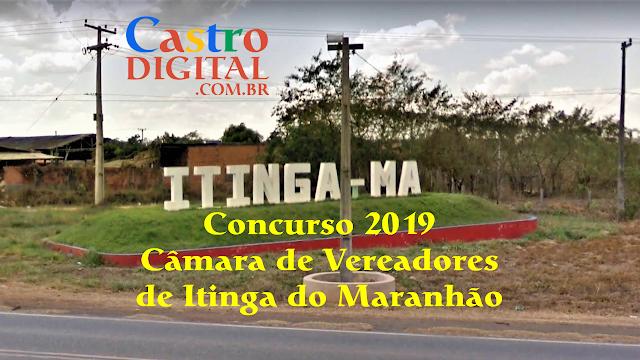 Edital do concurso 2019 da Câmara de Itinga do Maranhão