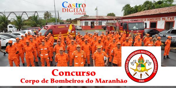 Concurso para Corpo de Bombeiros do Maranhão pode sair em 2019 ou 2020