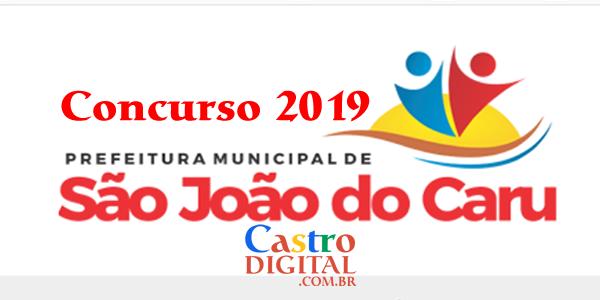 Concurso 2019 da Prefeitura de São João do Caru – MA tem banca organizadora definida