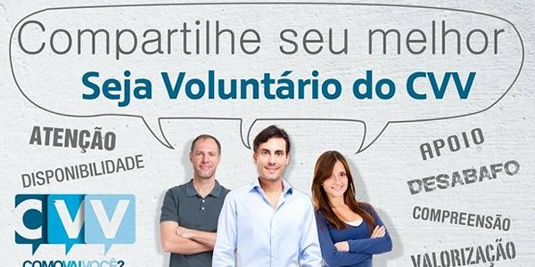 CVV de Bacabal abre inscrições para curso de capacitação de novos voluntários em 2019