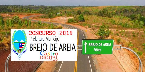 Edital do concurso 2019 da Prefeitura de Brejo de Areia – MA