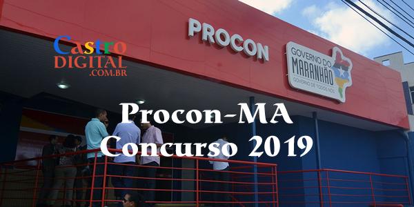 Concurso do Procon-MA deve ser realizado em 2019, banca organizadora já está definida