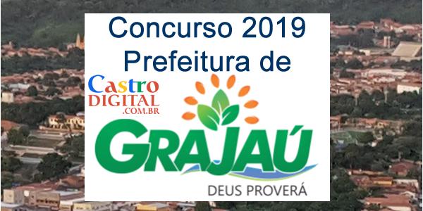 Edital do concurso 2019 da Prefeitura de Grajaú  – MA