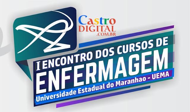 Convite para I Encontro dos Cursos de Enfermagem na UEMA de Bacabal