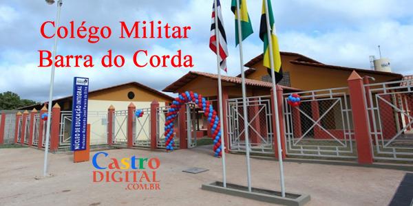 Colégio Militar em Barra do Corda será implantado pela Seduc-MA a partir de 2020