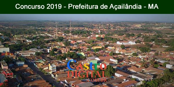Edital do concurso 2019 da Prefeitura de Açailândia – MA