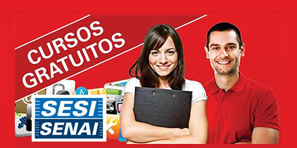 Cursos GRÁTIS 100% on line no SESI e SENAI com certificado
