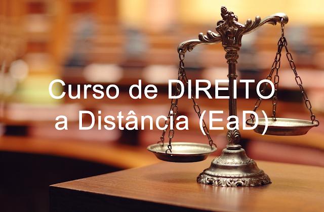 Curso de DIREITO a Distância (EaD): MEC inicia avaliação de oferta