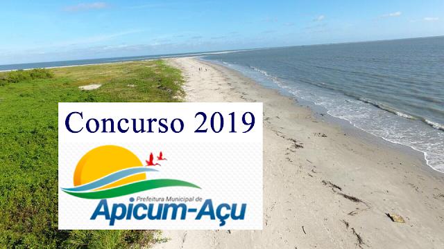 Edital do concurso 2019 da Prefeitura de Apicum-açu – MA