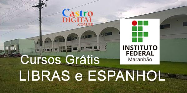 Seletivo para curso grátis de LIBRAS e ESPANHOL no IFMA de Bacabal – Edital 05/2019