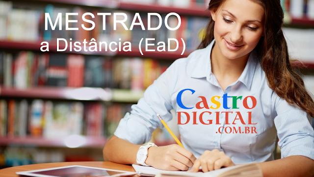 17 cursos de MESTRADO a DISTÂNCIA (EaD) são analisados pela CAPES