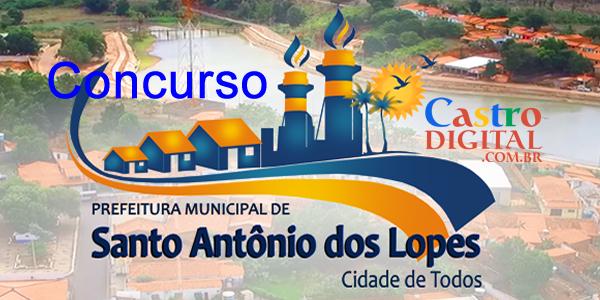 EDITAL do concurso 2019/2020 da Prefeitura de SANTO ANTONIO dos LOPES – MA está autorizado, veja a lista de cargos e vagas