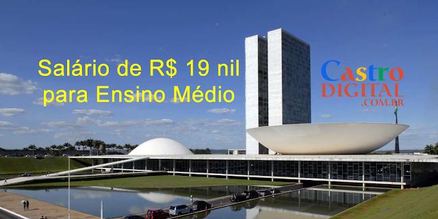 Edital do Concurso do Senado com salário de R$ 19 mil para ensino médio é autorizado com provas no Maranhão, há vagas também para nível superior