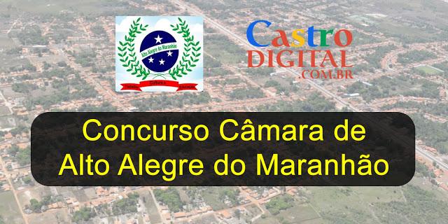 Edital do concurso 2019/2020 da Câmara de Alto Alegre do Maranhão está autorizado, veja a lista de cargos e vagas