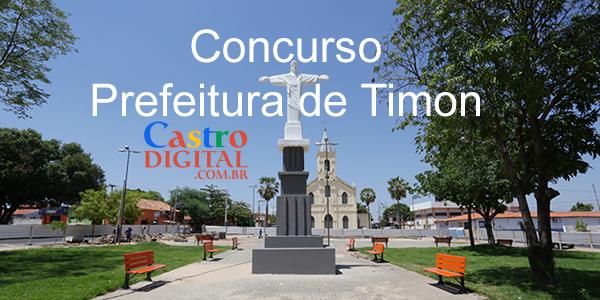 EDITAL do concurso 2019/2020 da Prefeitura de TIMON – MA está autorizado, veja a lista de cargos e vagas