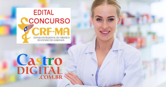 EDITAL do Concurso 2019/2020 do CRF Maranhão – Conselho Regional de Farmácia