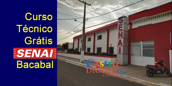 Seletivo 2019 para curso técnico grátis no SENAI de Bacabal – Edital 08/2019 – Jovem Aprendiz na empresa Equatorial Energia