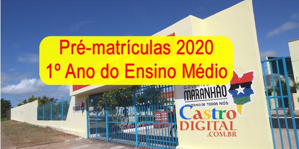 Seduc-MA: pré-matrículas 2020 para o 1º ano do ensino médio em escolas da rede estadual do Maranhão