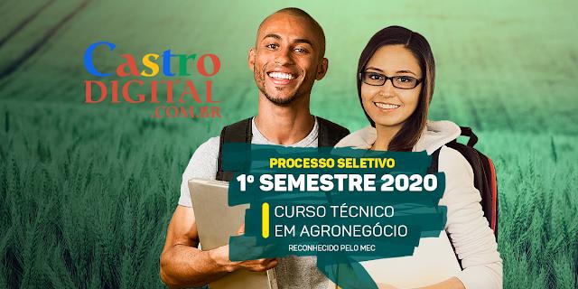 Seletivo 2020.1 para curso grátis de Técnico em Agronegócio a distância (EaD) pelo SENAR