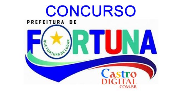 Edital do concurso 2020 da Prefeitura de FORTUNA – MA