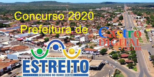 Edital do concurso 2020 da Prefeitura de ESTREITO – MA tem banca organizadora definida