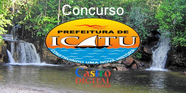 Edital do concurso 2020 da Prefeitura de ICATU – MA