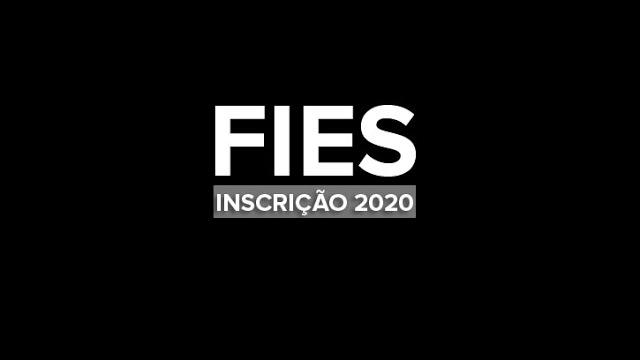 Como fazer a inscrição do Fies 2020?