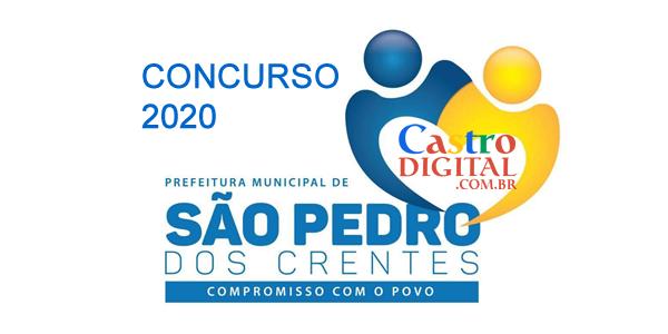 Edital do concurso 2020 da Prefeitura de SÃO PEDRO dos CRENTES – MA tem banca organizadora definida