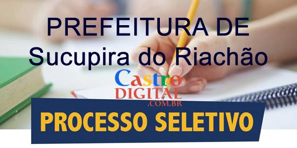 Edital do seletivo 2020 da Prefeitura de Sucupira do Riachão – MA